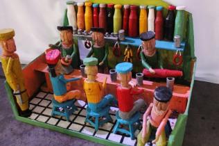 Bodega da Linguiça, arte de Seu Dilmo Nunes (Babaco). Festival da Tainha 2013
