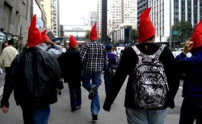 """A """"Saciata"""", uma passeada em um pé só organizada pelo professor de filosofia Chico Nunes"""