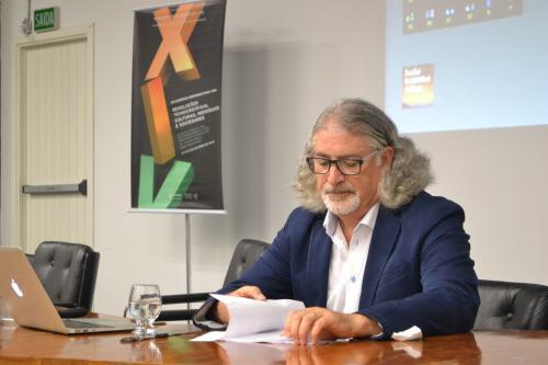Nikolas Rose, diretor do Departamento de Ciências Sociais, Saúde e Medicina do King's College de Londres. Foto: Andriolli Costa
